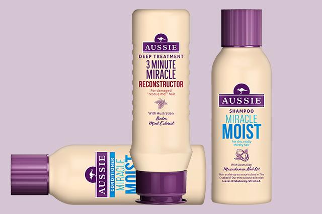Wanted: бестселлеры для спасения волос от Aussie в мини-формате