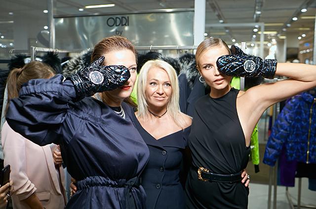 Маша Федорова, Яна Рудковская и Наташа Поли