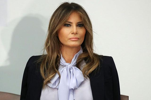 Секреты Белого дома: Мелания Трамп бойкотировала мужа после скандала о домогательствах