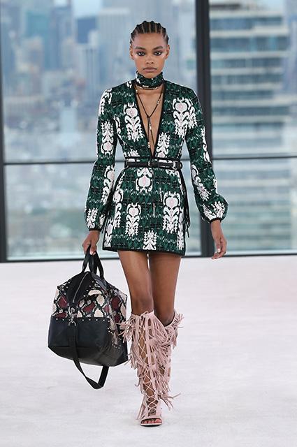 Неделя моды в Нью-Йорке: Кендалл Дженнер, Кейт Мосс и другие на показе Longchamp