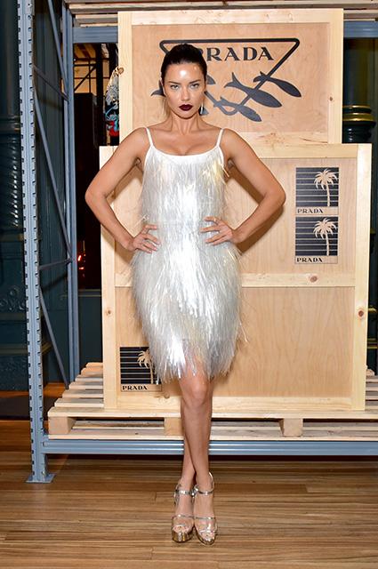 Адриана Лима, Джиджи Хадид, Эмили Ратажковски и другие звезды на вечеринках Недели моды в Нью-Йорке
