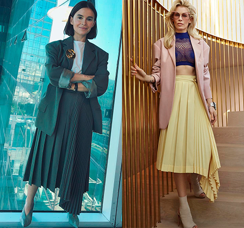 Модная битва: Мирослава Дума против Клаудии Шиффер