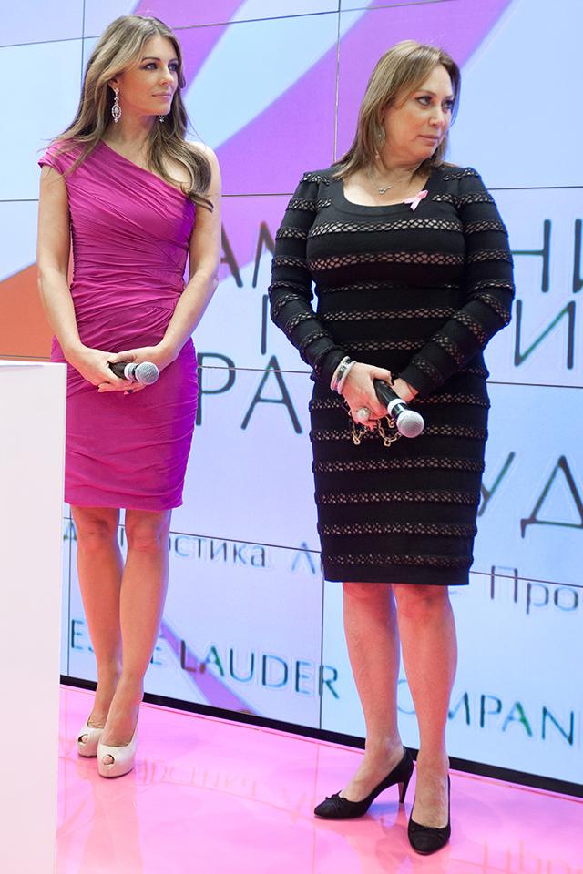 Элизабет Херли и Алла Вербер, 2011 год