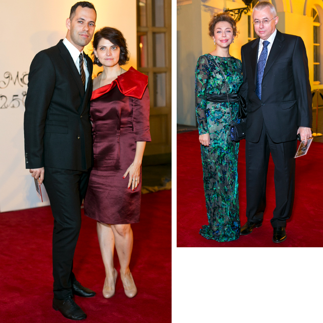 Михаил и Лили Идовы/ Божена Рынска и Игорь Малашенко, 2012 год