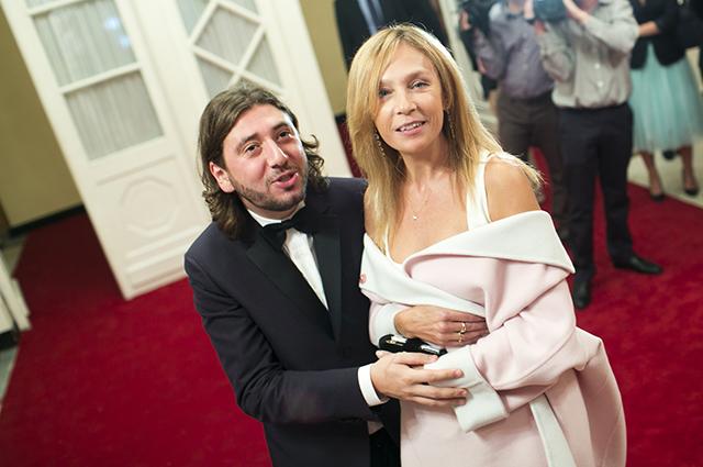 Михаил Друян и Алена Долецкая, 2012 год