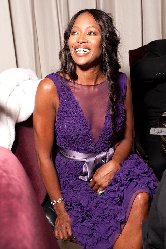 Наоми Кэмпбелл, 2010 год