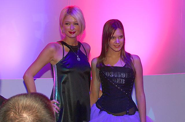 Пэрис Хилтон и Кира Пластинна, 2007 год
