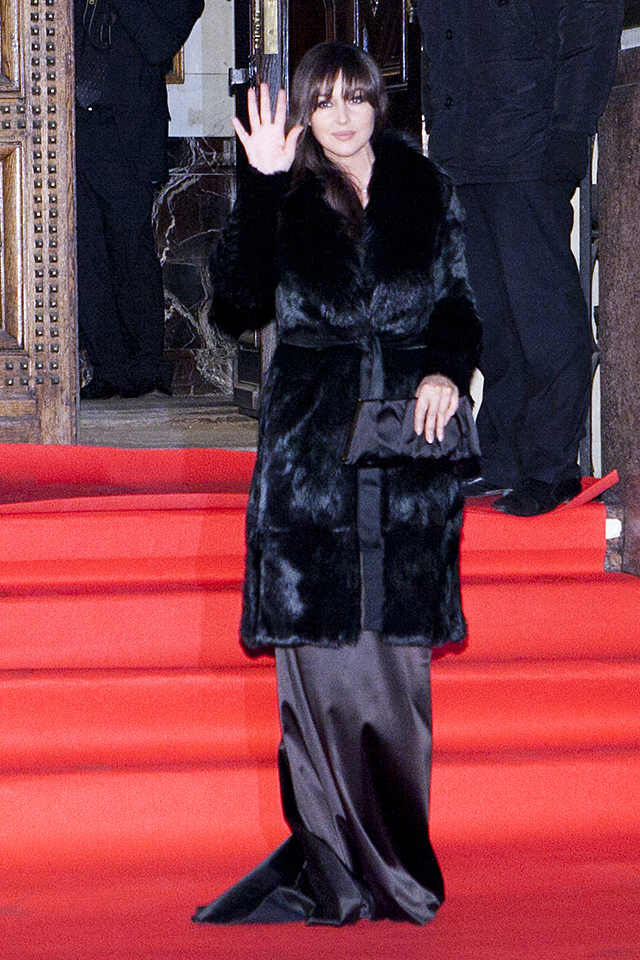 Моника Беллуччи. Гала-ужин Dolce&Gabbana, 2011 год