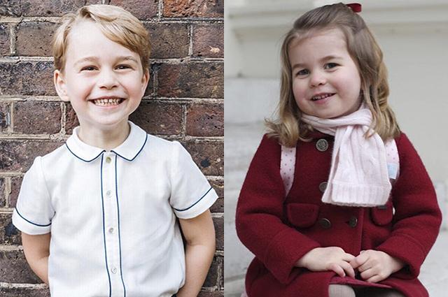 Застенчивый Джордж, заботливая  Шарлотта и жизнерадостный Луи: какими растут юные члены королевской семьи