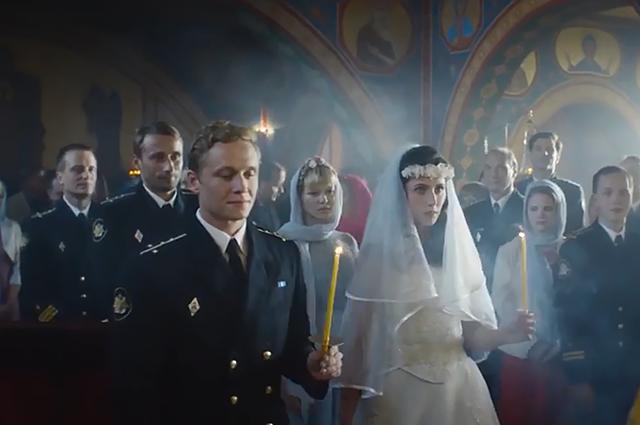 "Кадр из фильма ""Курск"""