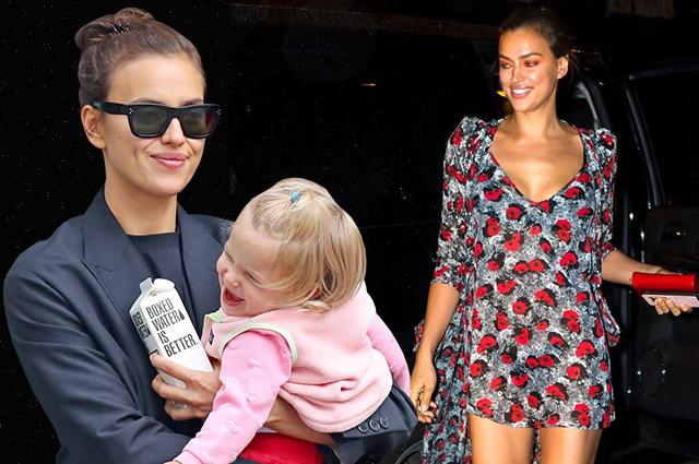 Мамочка и дива: новые модные перевоплощения Ирины Шейк в Нью-Йорке (и фото звезды с дочерью!)