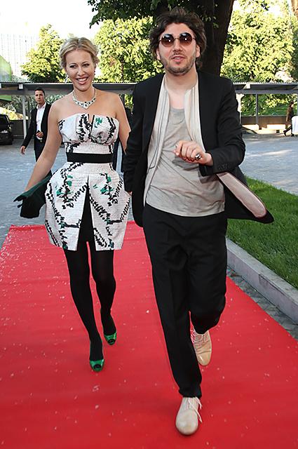 Ксения Собчак и Михаил Друян, 2010 год