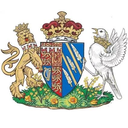 Герб принца Гарри и Меган Маркл
