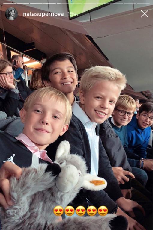 «Самый непоседливый из моих детей»: Наталья Водянова поздравила сына Виктора с днем рождения