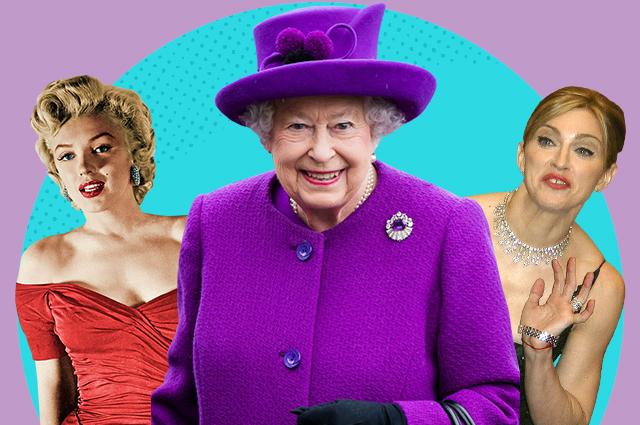 У королевы у английской: как Мадонна, Путин, Монро и другие встречались с Елизаветой II