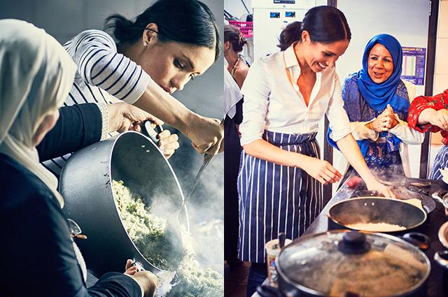 Готовим вместе с Меган Маркл: жена принца Гарри выпустила книгу рецептов восточной кухни