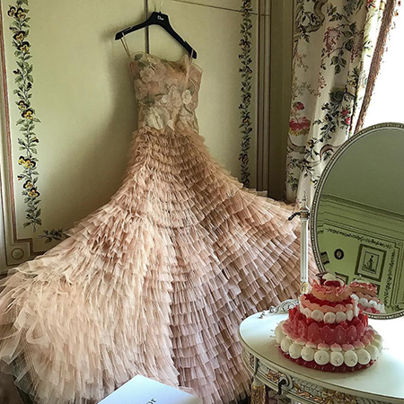 Платье Яны Рудковской