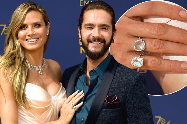 В сети обсуждают кольцо на безымянном пальце Хайди Клум