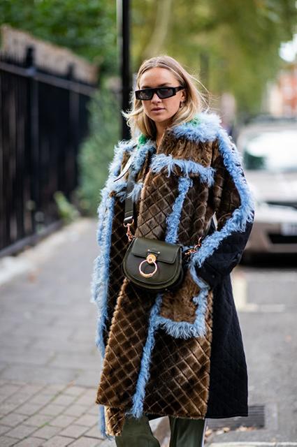 Неделя моды в Лондоне: street style