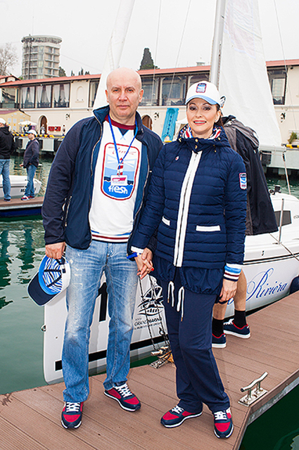 Николай Разгуляев и Ольга Кабо