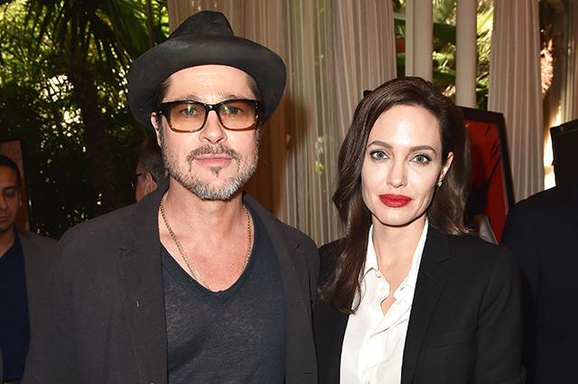 Анджелина Джоли и Брэд Питт тайно встретились, чтобы решить вопрос с опекой над детьми
