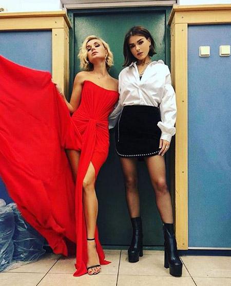 Полина Гагарина и Елена Темникова
