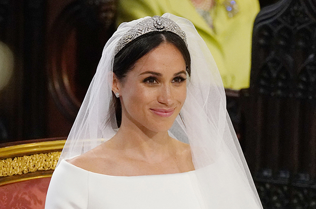 Меган Маркл в день свадьбы с принцем Гарри