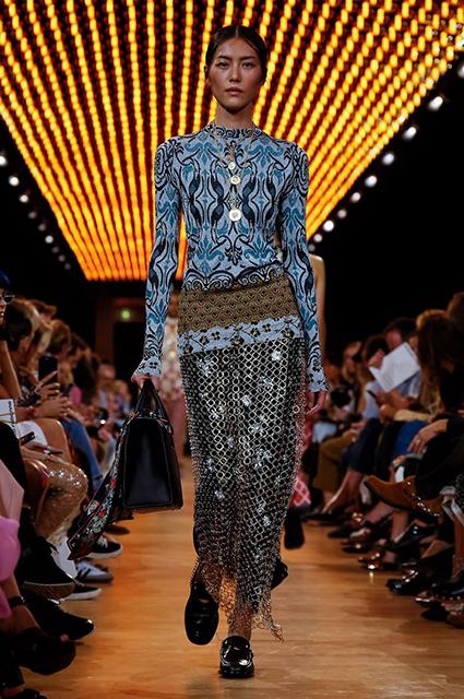 Неделя моды в Париже: показы Chloe и Paco Rabanne сезона весна/лето-2019