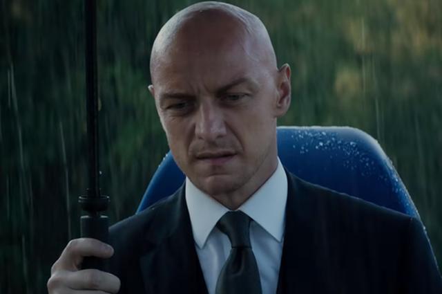 """Джеймс Макэвой в трейлере фильма """"Люди Икс: Темный Феникс"""""""