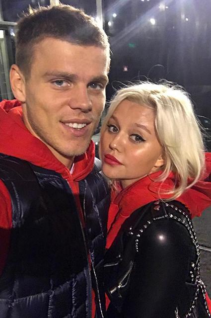 Александр Кокорин и Дарья Валитова