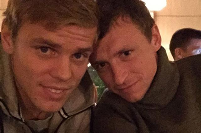 Футболисты Александр Кокорин и Павел Мамаев задержаны на 48 часов
