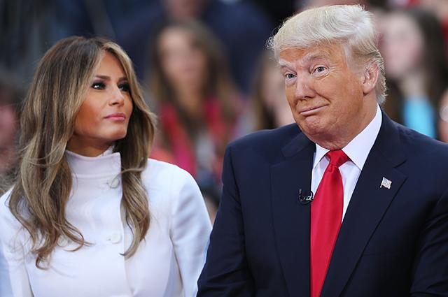 Мелания Трамп прокомментировала измены мужа в нашумевшем интервью