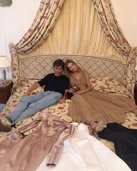 Александр Терехов и Наталья Водянова