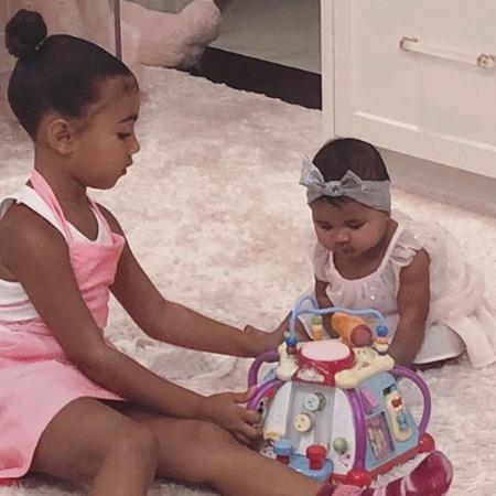 Все в сборе! Хлое Кардашьян выложила милое фото со дня рождения дочери