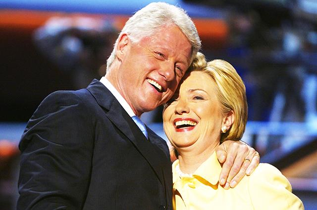 Хиллари Клинтон оправдала мужа после скандала с Моникой Левински