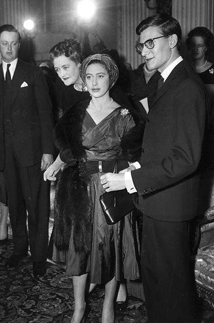Принцесса Маргарет и Ив Сен-Лоран, 1958 год
