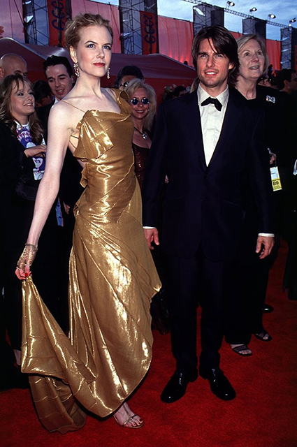 Николь Кидман и Том Круз, 2000 год