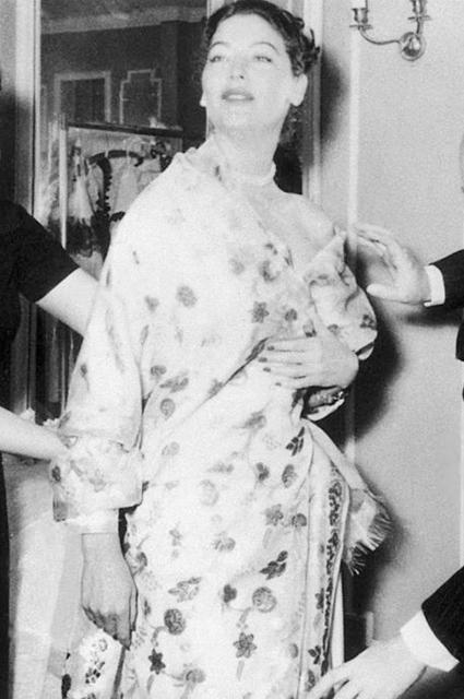 Ава Гарднер, 1957 год