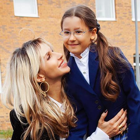Светлана Лобода со старшей дочкой Евангелиной