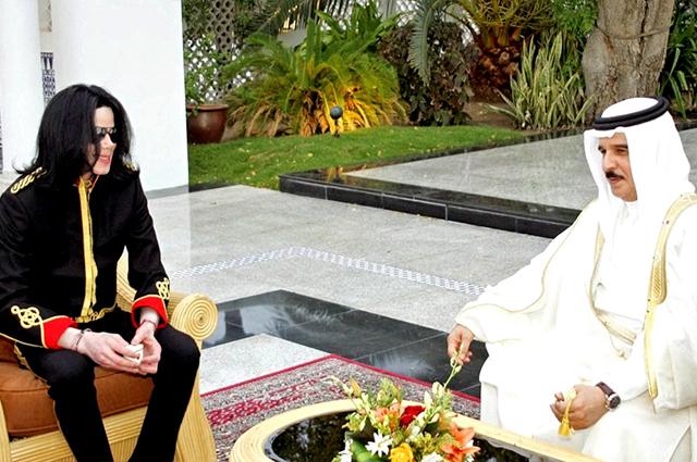 Майкл Джексон и принц Абдулла
