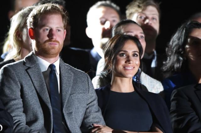 Меган Маркл и принц Гарри на церемонии открытия «Игр непокоренных»