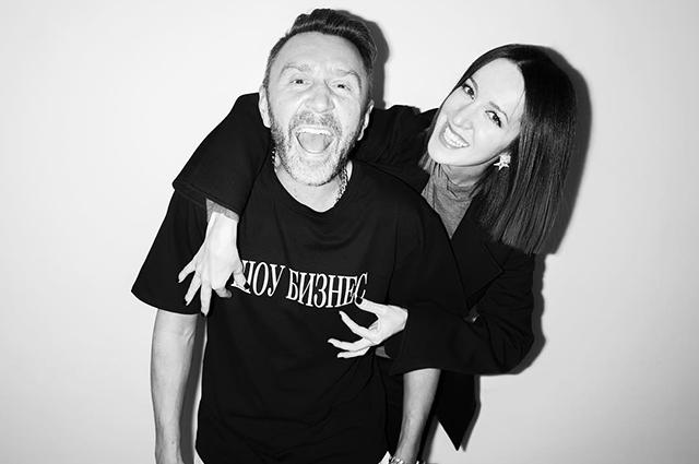 Сергей Шнуров с Матильдой