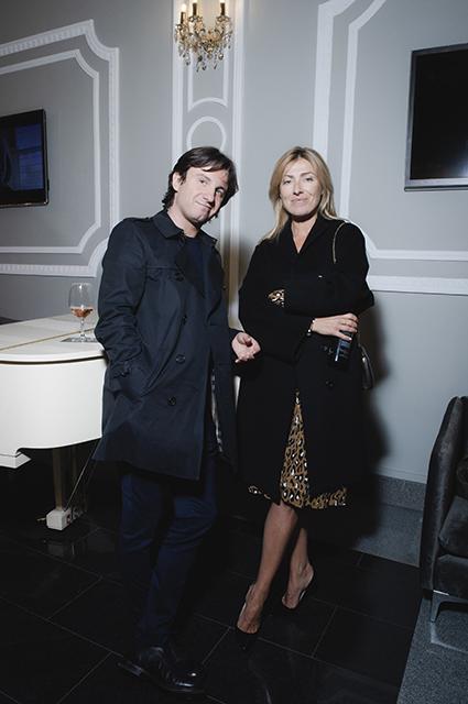 Петр Ануров с женой