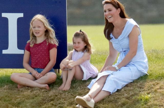 Саванна Филлипс, принцесса Шарлотта и Кейт Миддлтон