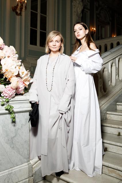 Виктория Андреянова с дочерью