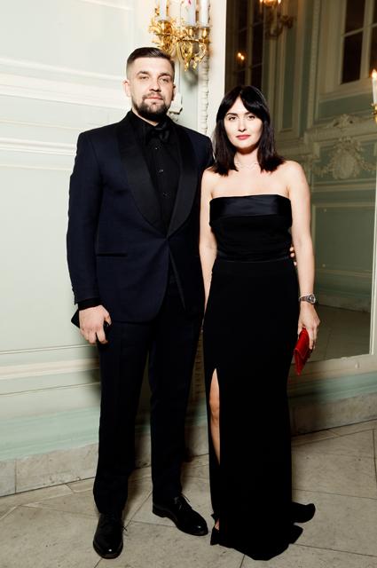 Баста с женой Еленой