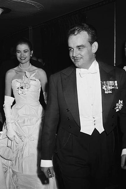 Грейс Келли и принц Ренье, 1956 год