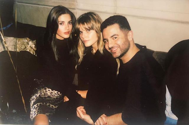 Ирина Шейк повеселилась в компании Марины Линчук на вечеринке в Нью-Йорке