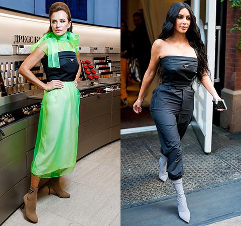 Модная битва: Виктория Шелягова против Ким Кардашьян