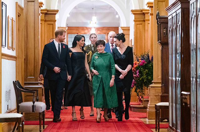 Меган Маркл выступила с речью о правах женщин в Доме правительства в Новой Зеландии